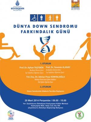 Down Sendromu Günü Afişi Son